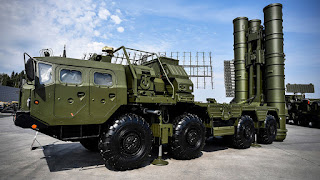 Sistem Pertahanan Rudal S-400 Rusia