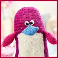 Pingüino de punto