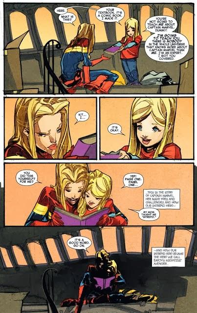 captain marvel kit