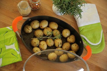 ميني بطاطس بالأعشاب - مطبخ منال العالم