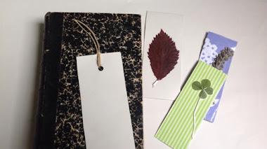 Cómo hacer unos marcapáginas con elementos naturales