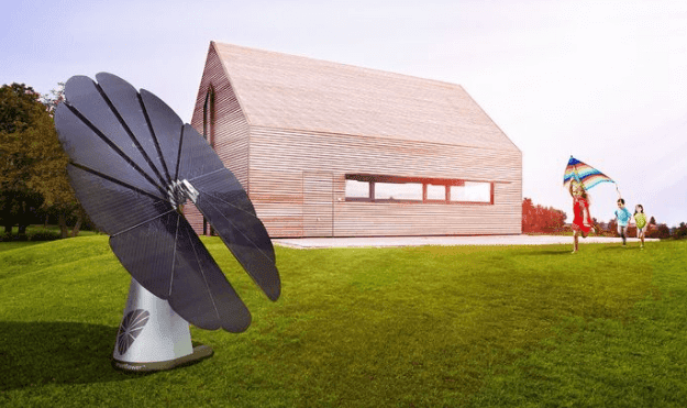 SmartFlower Solar System Can Move According To Sun