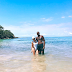 Khloe Kardashian and boyfriend Tristan Thompson on an Island vacation (Photos)