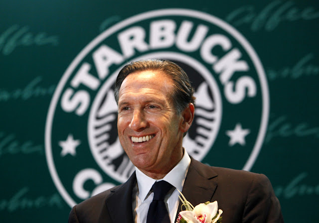 Howard Schultz -  Pemilik Kedai Kopi Starbucks