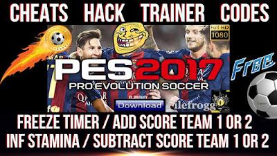 PES 2017 Trainer Plus 7 Trainer Tool