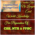 CSS,PPSC,NTS World General Knowledge