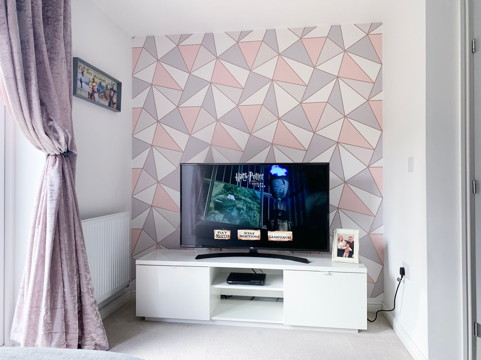 rose-gold-geometric-wall