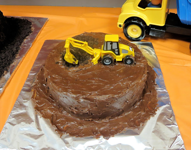 Construction Site & Vehicle Dirt Cake - Extra Cake