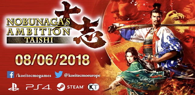 Koei Tecmo anuncia el estreno en Occidente de Nobunaga's Ambition: Taishi