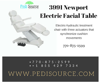 3991 Newport Electric Facial Table from pedisource.com