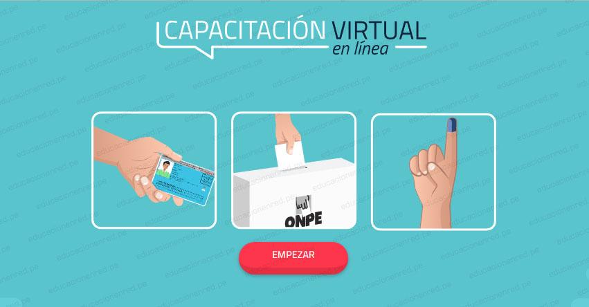 ONPE: Sepa cómo capacitarte en línea si eres Miembro de Mesa para las Elecciones del Domingo 7 de Octubre - www.capacitacion.onpe.gob.pe