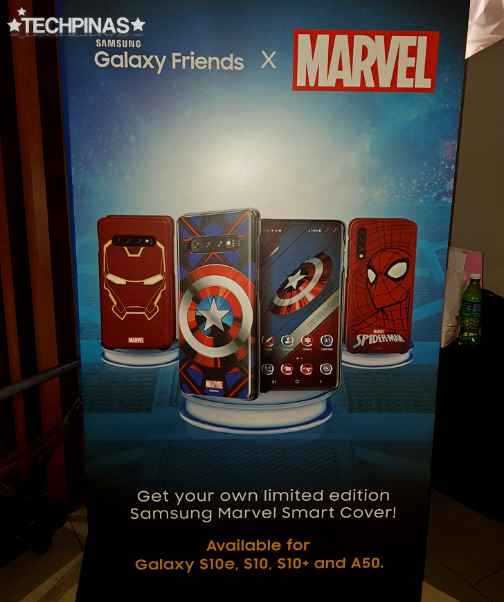 Samsung Galaxy Friends x Marvel Smart Covers
