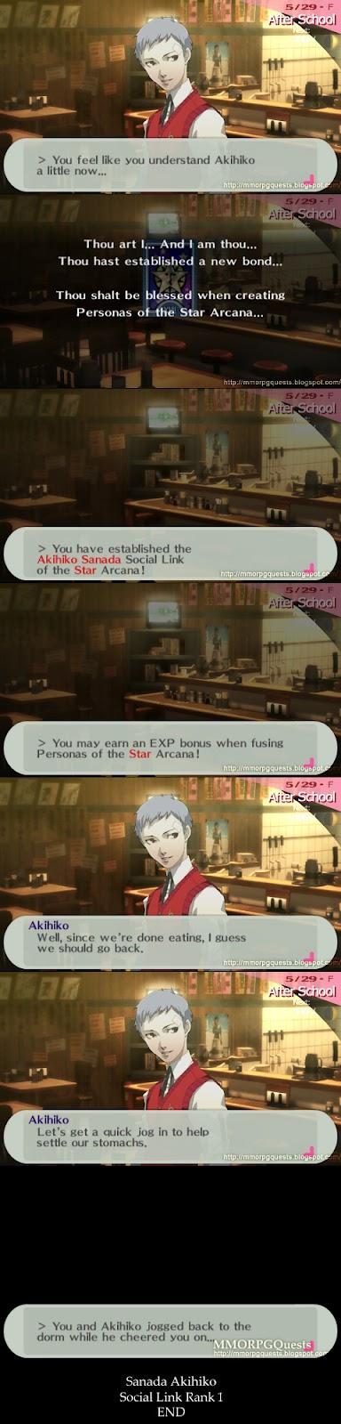 P3p dating akihiko