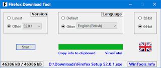 Firefox Download Tool 1.3.1.16