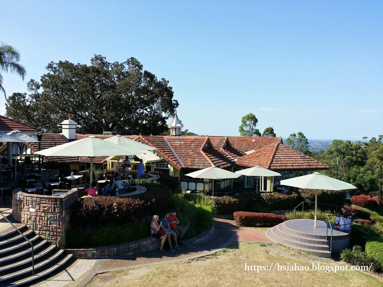 布里斯本-景點-美食-庫薩山-市區-遊記-庫薩山觀景台-行程-Mt. Coot-Tha-Summit-Lookout-Brisbane