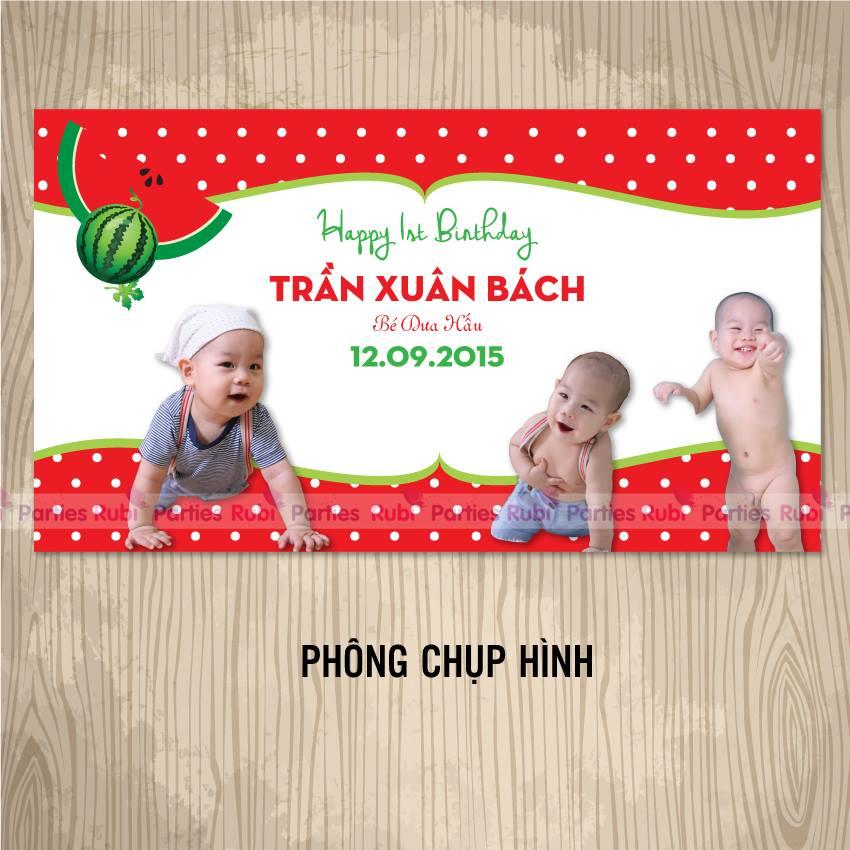 Phong chup hinh sinh nhat theo chu de Dua Hau