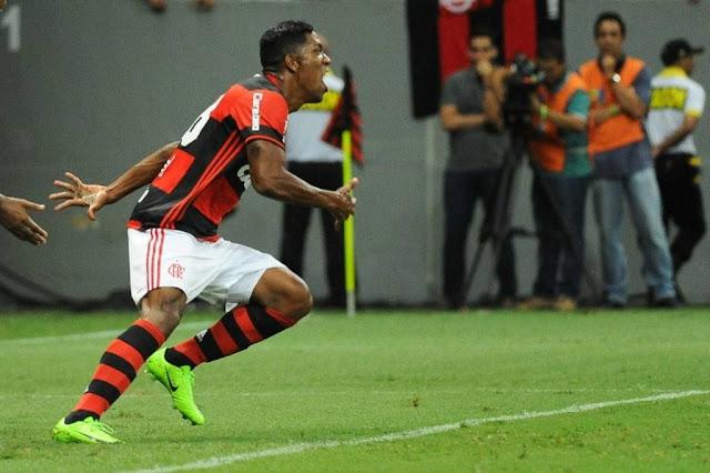 Berrío estreou bem pelo Flamengo (Foto: Staff Images/Flamengo)