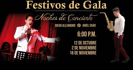 Festivos de Gala en el Teatro Santa Fé
