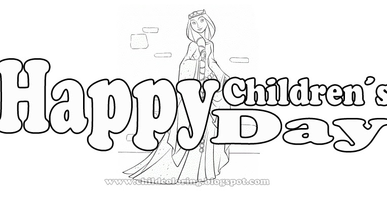 Brave Coloring Page Happy Children 180 S Day Coloring