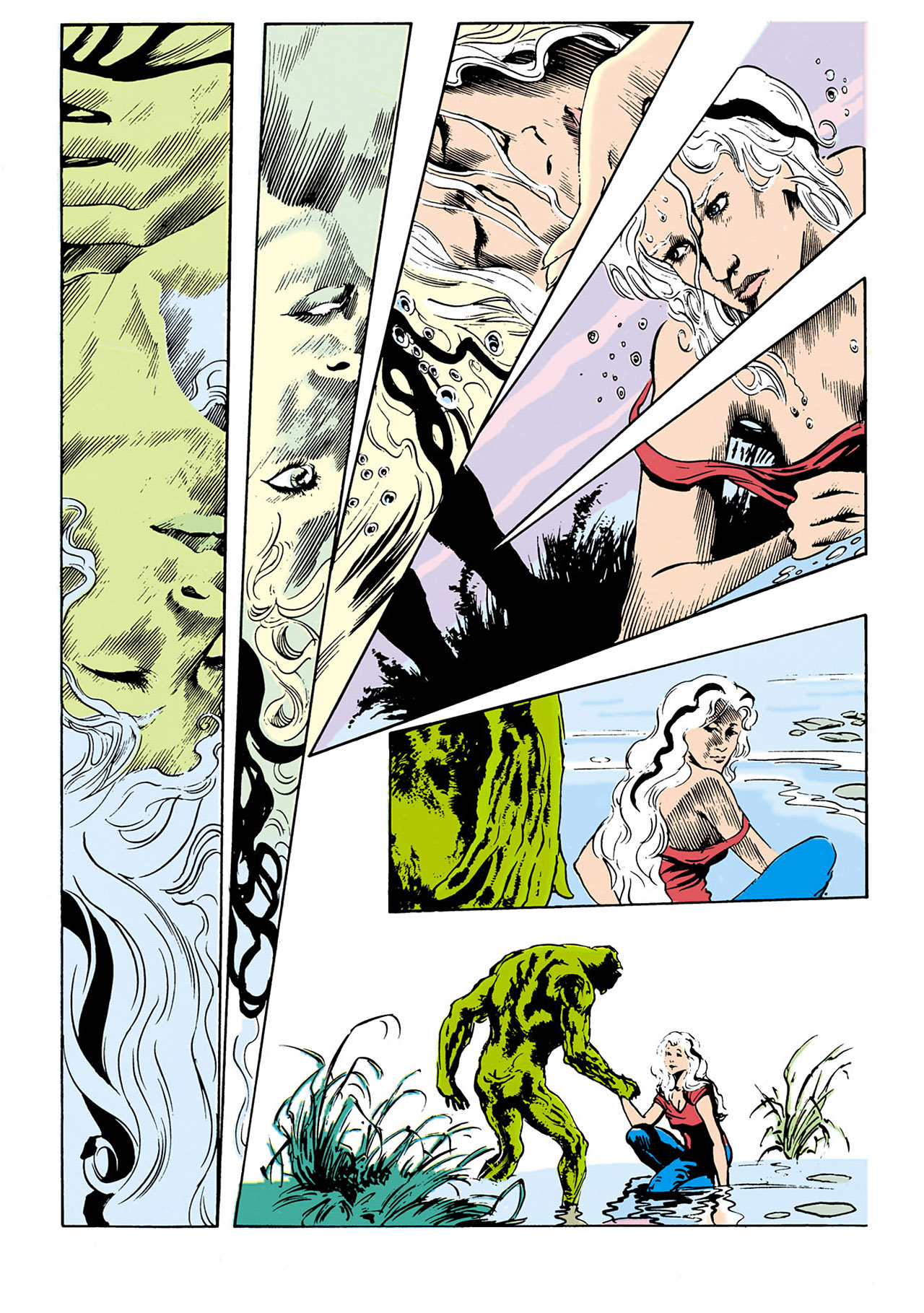 Swamp Thing (1982) Issue #34 #42 - English 17