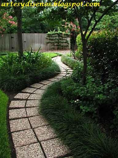 Pisos con piedras para jardines decoraci n del hogar for Jardines de casas sencillas