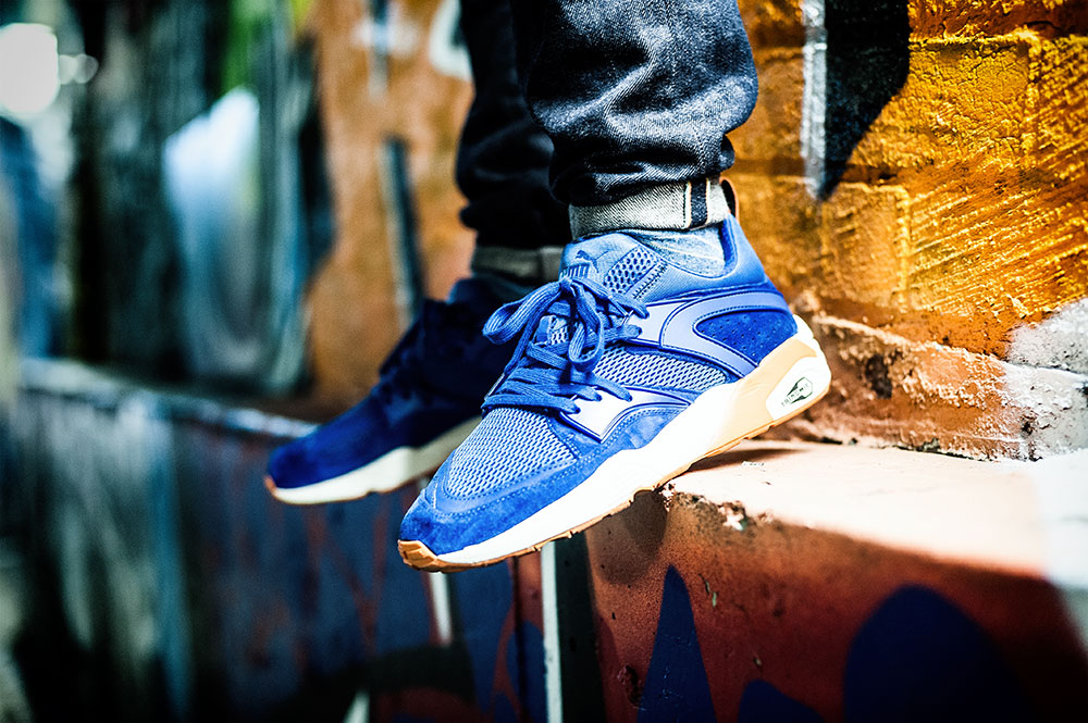 Puma Blaze of Glory 'New York Knicks' Sneakers by Tom Cunningham