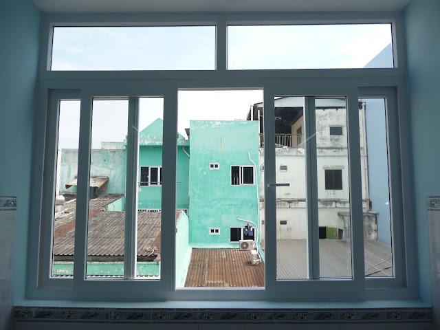 Mẫu cửa sổ trượt 4 cánh