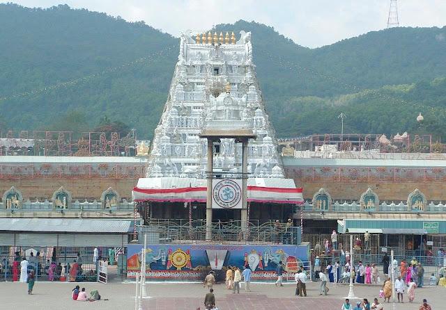 Tirupati Balaji in Andhra Pradesh
