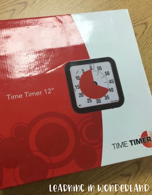 The perfect timer to use in the classroom!
