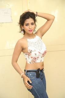 Deekshita Parvathi in a short crop top and Denim Jeans Spicy Pics Beautiful Actress Deekshita Parvathi January 2017 CelebxNext (233).JPG