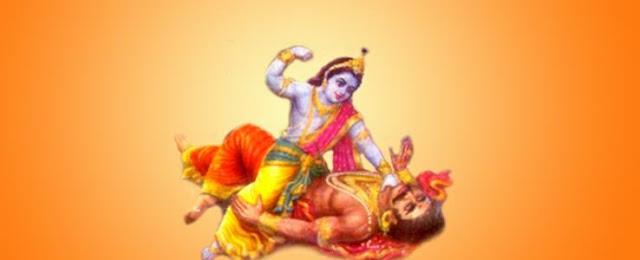 Lord Krishna; Narak Chaturdarshi ;Choti Diwali Narak Chaturdarshi ;Choti Diwali