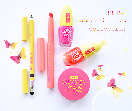 Pupa Summer in L.A. Collection 2018