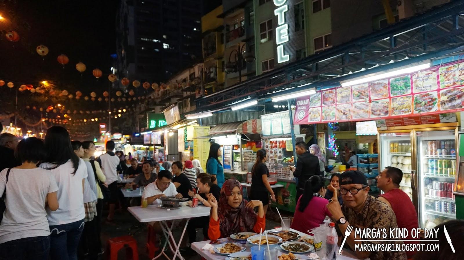 Kuliner halal di Jalan Alor