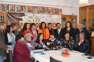 Lanzan plataforma social por justicia y anuncian carta a Bachelet