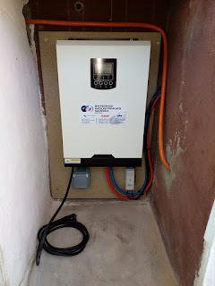 inversor cargador mppt axpert mks plus vm vp 24v 3000va 2400w 1500wp 60a 60a inverter charger