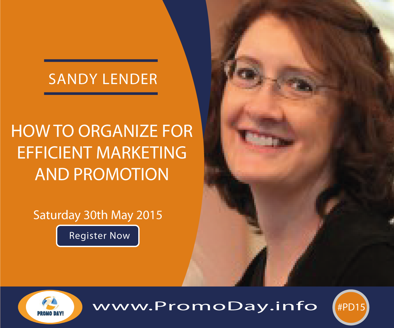 #PD15 Webinar: How to Organize for Efficient Marketing and Promotion with Sandy Lender