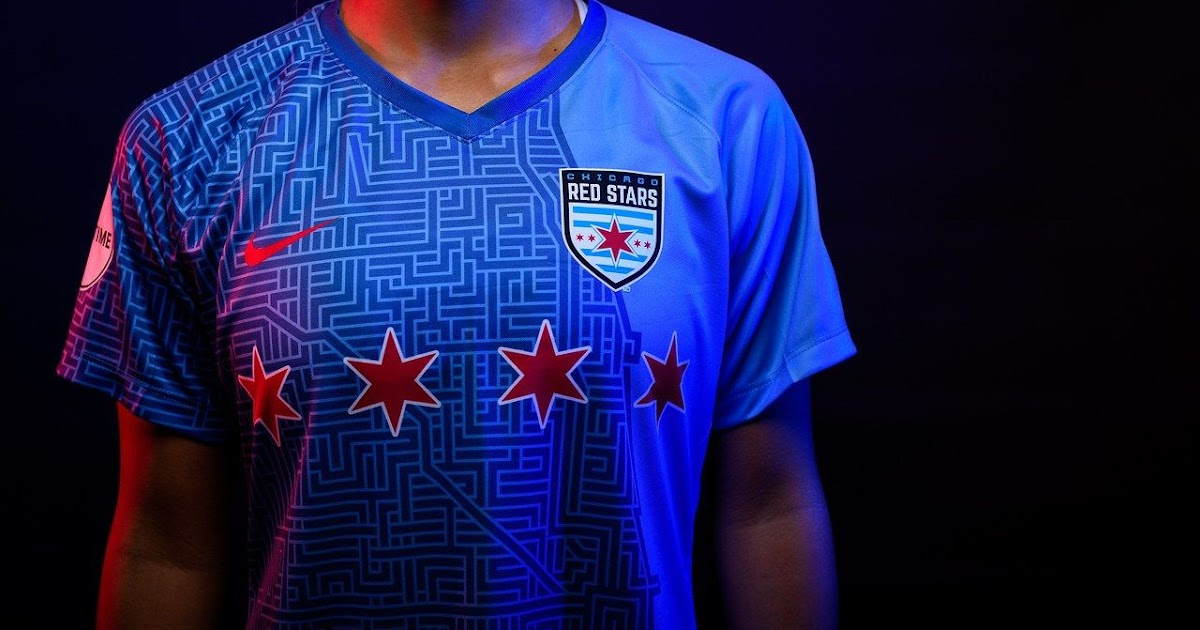 00b7eb2944b Chicago Red Stars 2019 Home Kit Released - Footy Headlines