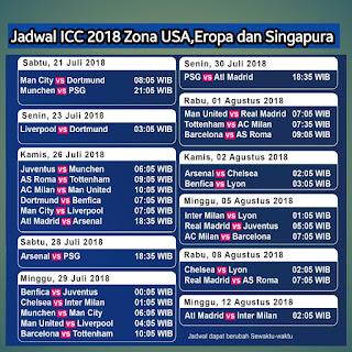 Bisskey International Champion Cup 2018  Via Satellite Parabola Update
