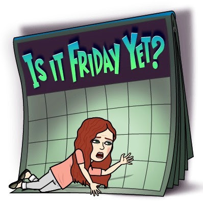 Karen Bitmoji: Is it Friday yet?