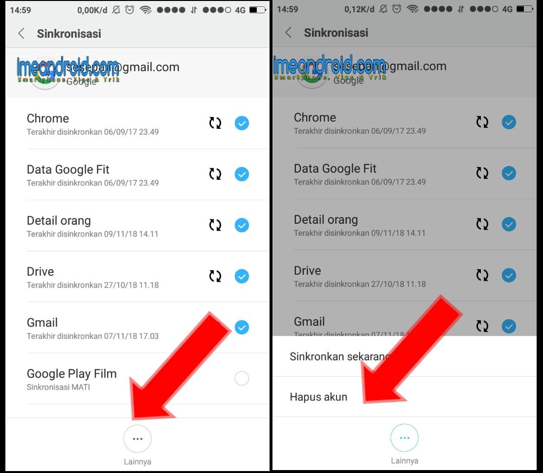 Cara Logout Gmail Pada Hp Android Semua Tipe Dan Merek Ime Android