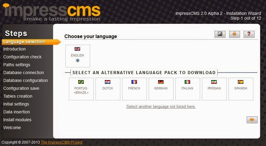 Cara Daftar Impress CMS