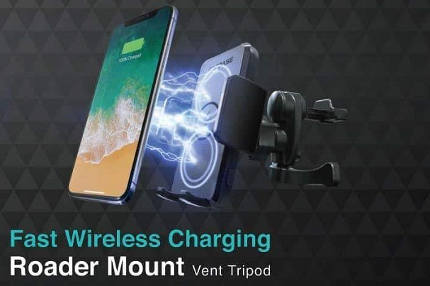 Capdase Roader Fast Wireless Charging Car Mounts Vent Type
