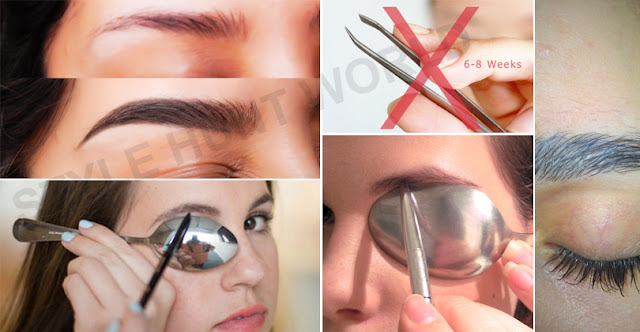 How To Make Perfect Shaped Eyebrows With Easy Ways!