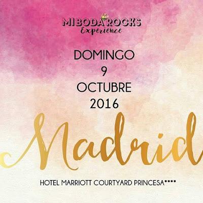 Mi Boda Rocks Experience Madrid octubre 2016