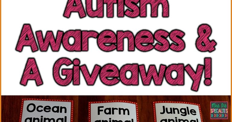 Our Teacher Asked What My Favorite Animal Was: Celebrate Autism Awareness With A Giveaway!