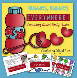 Bubbles and Body Parts from All Y'all Need