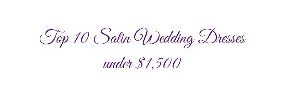 Casablanca Bridal's Top Satin Wedding Dresses