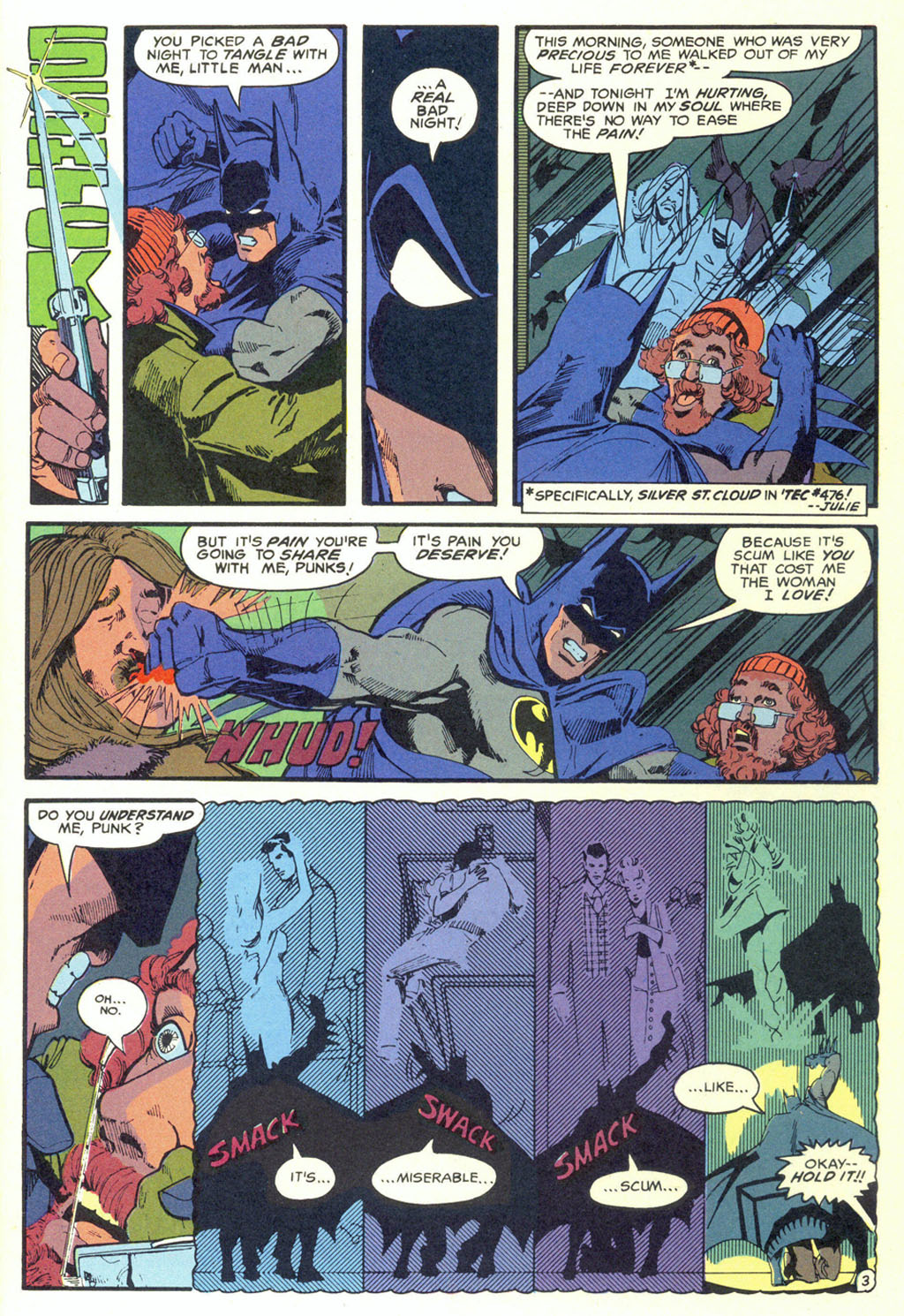 Read online Shadow of the Batman comic -  Issue #5 - 6