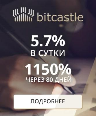 Баннер-виджет bitcastle