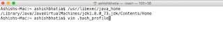 Using /usr/libexecv/java_home in MAC OS X to find Java